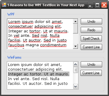 5 Reasons You Should Use the WPF TextBox in Your Next App