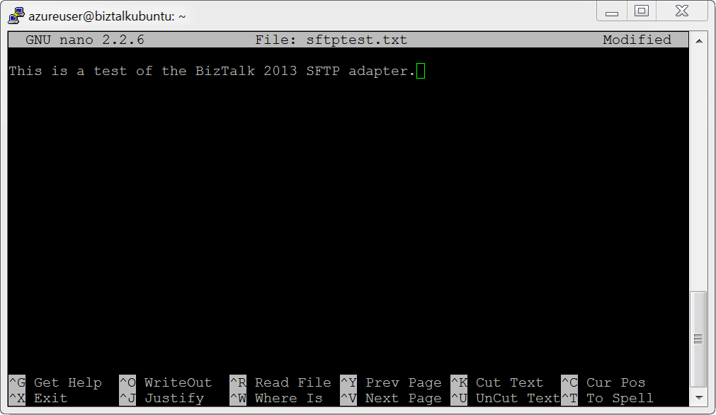 Exploring the Out-of-the-box Support for SFTP in BizTalk Server 2013