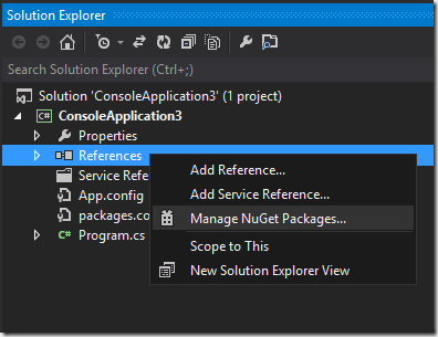 manage_nuget_packages