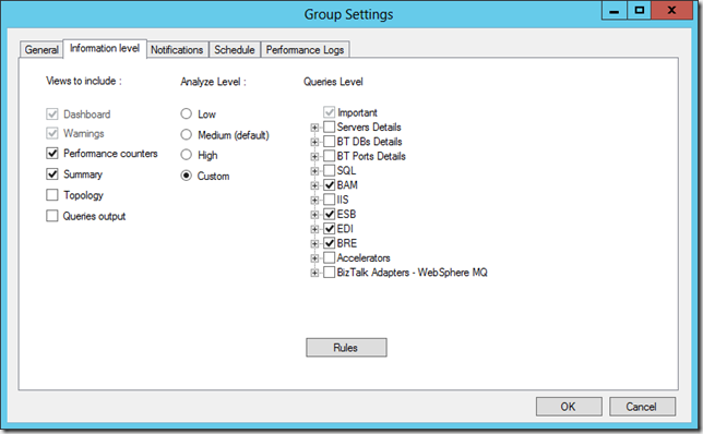 Configuring Reporting Settings