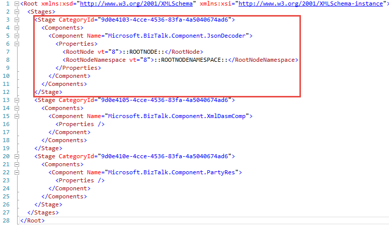 Decoding JSON Data Using the BizTalk Server 2013 R2
